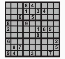 Sudoku Kids Clothes