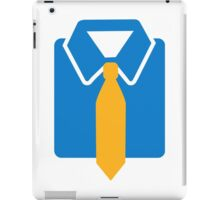 Shirt tie iPad Case/Skin