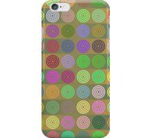 Multicolored circles iPhone Case/Skin