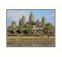 Angkor Watt Art Print