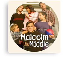 Malcolm in the Middle Metal Print