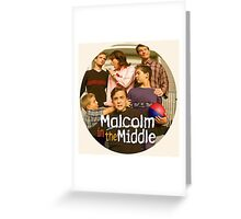 Malcolm in the Middle Greeting Card