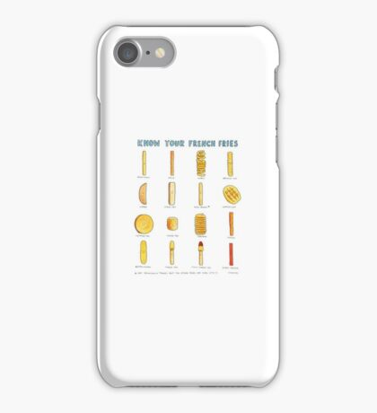 Fry formations  iPhone Case/Skin