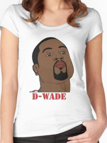 D-Wade Women's Fitted Scoop T-Shirt