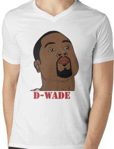 D-Wade Mens V-Neck T-Shirt