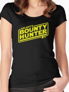 Galaxy's #1 Bounty Hunter Women's Fitted Scoop T-Shirt