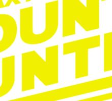 Galaxy's #1 Bounty Hunter Sticker