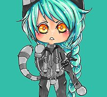 Electric Kitten by RewbyFox