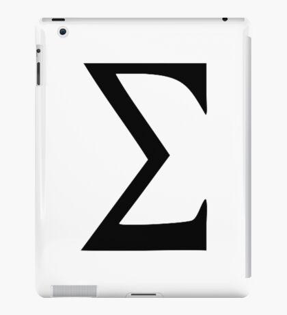 Sigma iPad Case/Skin