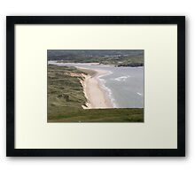 Lagg Beach Malin Co Donegal Ireland Framed Print