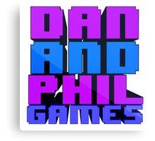DAN AND PHIL GAMES Canvas Print