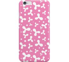 Pink Abstract Pattern iPhone Case/Skin