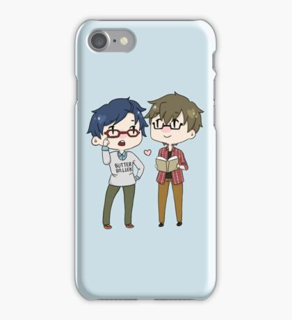 Study Date? MakoRei iPhone Case/Skin