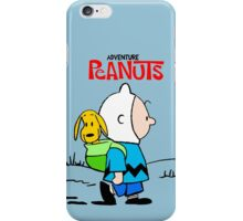 Adventure Time Peanuts iPhone Case/Skin