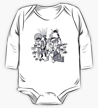 The Force Side One Piece - Long Sleeve