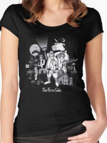 The Force Side Women's Fitted Scoop T-Shirt