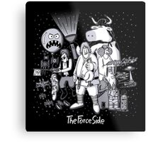 The Force Side Metal Print