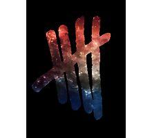 Galaxy 5SOS Logo Photographic Print