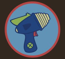 Astro Blaster Shooting Badge by monsterobots