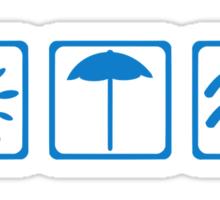 Summer icons Sticker