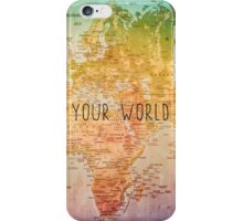 Color your World iPhone Case/Skin