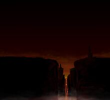 Canyon of Fire by Dennis  Greenhill