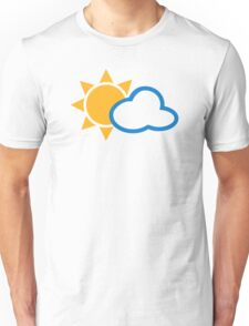 Sun cloud Unisex T-Shirt
