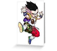 Gotenks Greeting Card