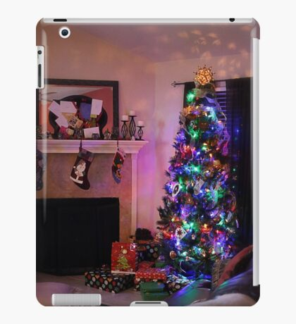 Merry Christmas from My Home to Yours! iPad Case/Skin