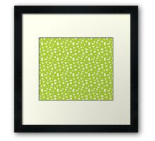 Rectangle Pattern Framed Print