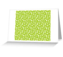Rectangle Pattern Greeting Card