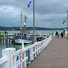 Russell wharf.......a great days fishing starts here......! by Roy  Massicks