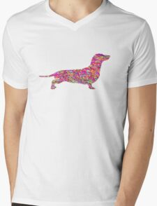 Pyschedelic Sausage Dog T-Shirt