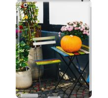 Colorful Chairs iPad Case/Skin