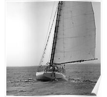 Sailing Downwind Poster