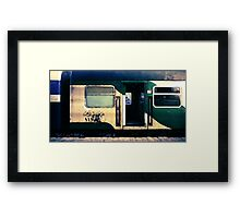 night train to cairo Framed Print