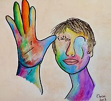 American Sign Language FATHER by EloiseArt