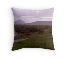Anagry to Errigil Throw Pillow