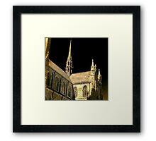 totally gothic Framed Print