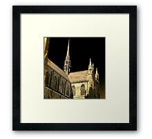totally gothic Framed Print