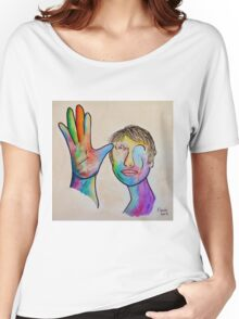 American Sign Language FATHER Women's Relaxed Fit T-Shirt