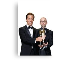 Jim Rash and Nat Faxon Canvas Print