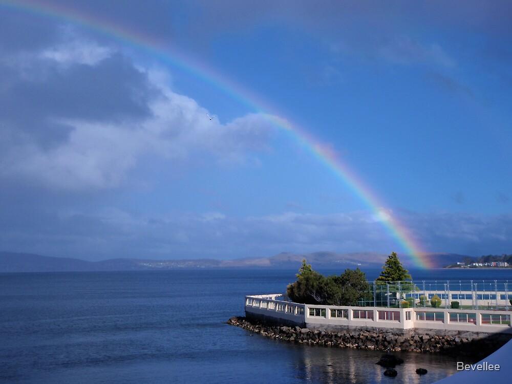 Rainbow - Hobart by Bevellee