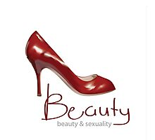 Beauty & Sexuality Shoes Photographic Print