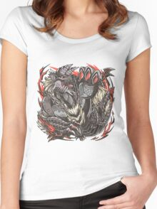Emperor of Hell  Women's Fitted Scoop T-Shirt