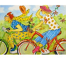 Bicycle Belles Photographic Print