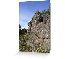 Hanging Rock Nose (2) Greeting Card