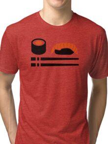 Sushi sashimi sticks Tri-blend T-Shirt