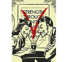 V for Valentine Photographic Print
