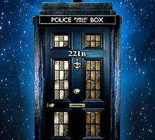 Space Traveller Box with 221b number by Arief Rahman Hakeem